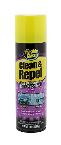 Invisible Glass 91184 Premium Glass Cleaner with Rain Repell
