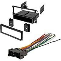 HYUNDAI 2001 - 2006 SANTA FE (WITH OVERSIZED FACTORY RADIO) CAR STEREO RADIO CD PLAYER RECEIVER INSTALL MOUNTING KIT WIRE HARNESS