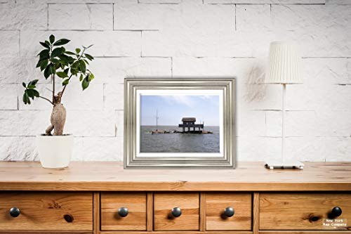 (New York Map Company  Branford, CT - Photo - Thimble Islands Archipelago in The Long Island Sound, Branford, Connecticut - Carol Highsmith |Size: 9x12|Ready to Frame)