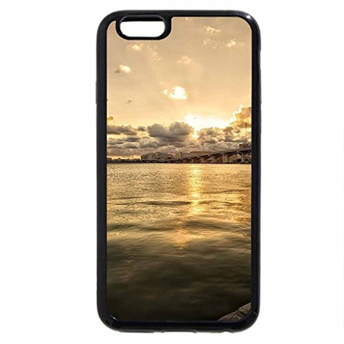 iPhone 6S / iPhone 6 Case (Black) wonderful bridge across the bay hdr