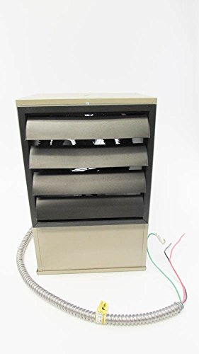 TPI CORP. F1FUH10CA1 10KW 48.7A 1Ph 34100BTU 208V Horizontal Discharge (208v Wall Heater)