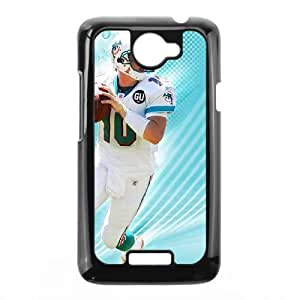Miami Dolphins HTC One X Cell Phone Case Black persent zhm004_8469779