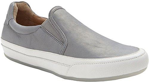 Vionic Women's April Slip On Shoe Grey Metallic