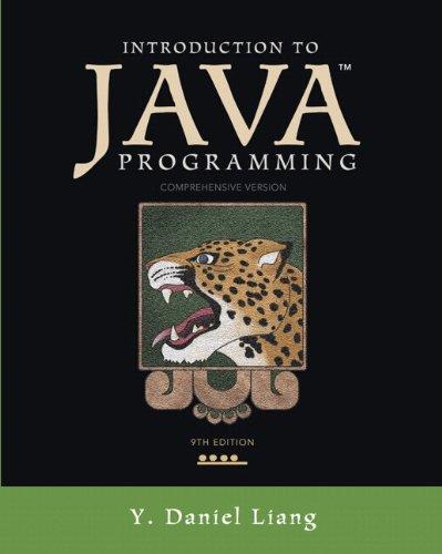 java programming daniel liang - 7