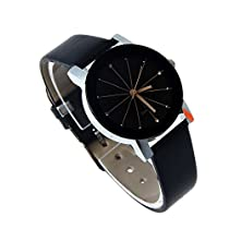 Swadesi Stuff Black Dial Crystal watch Stylish Analog watch