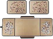 Rompecabezas portátil para almacenamiento de puzles ahorrador, superficie de franela antideslizante, hasta 100