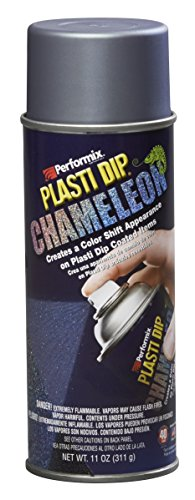 Plasti Dip Performix 11256-6-6PK Turquoise/Silver Chameleon Metalizer - 11 oz, (Pack of 6) by Plasti Dip