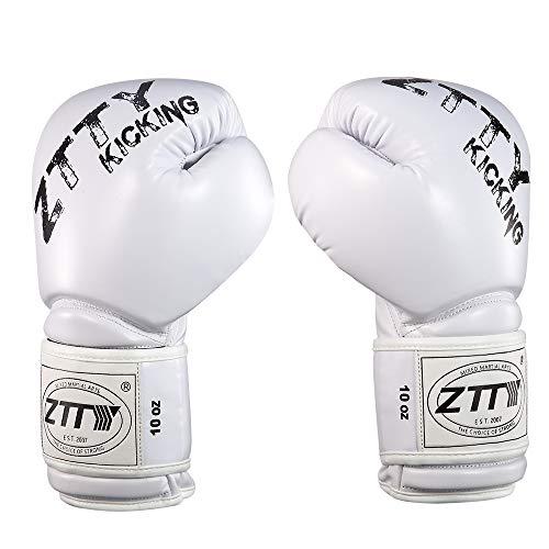 (ZTTY Boxing Gloves for Women and Men Kickboxing Gloves for Sparring Grappling Thai Training Gloves)