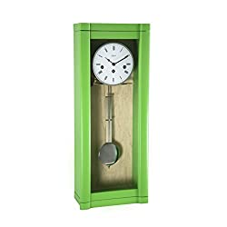Qwirly Hermle ROSSLYN Regulator Wall Clock, 8-Day Westminster Chime, 70963-GR0341, Close Out