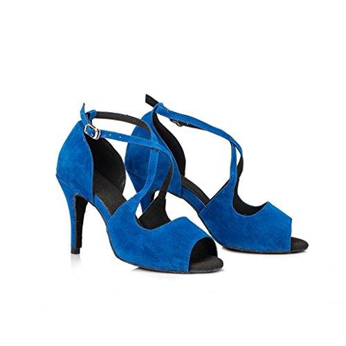 Bleu Monie de Salle femme bal xwnIgB8q1