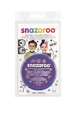 Snazaroo Face Paint 18ml-Purple