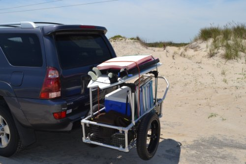 Multifunction Beach Cart Bicycle Trailer Cart Cargo