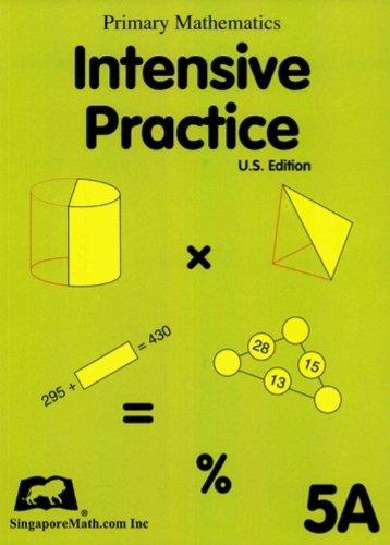 Download Primary Mathematics Intensive Practice U.S. Edition 5A ebook