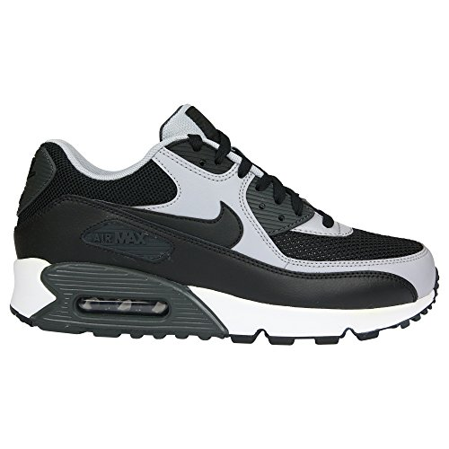Nike Men's Air Max 90 Essential Black/Black/Wolf Grey/Anthrct - All Black Air Max 90