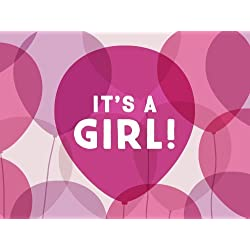 It's a Girl Balloons egift card link image