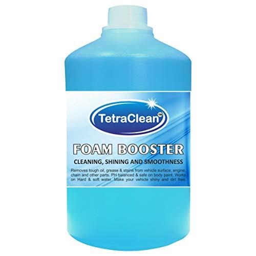 Tetraclean High Foam Booster Car Shampoo Car Washing Liquid   250 ML