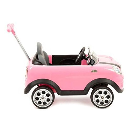 Push Car Minicooper Rosa