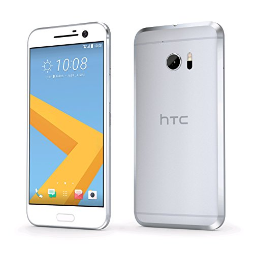 HTC 10 unlocked smartphone 32 GB, Glacier Silver (U.S. Version)