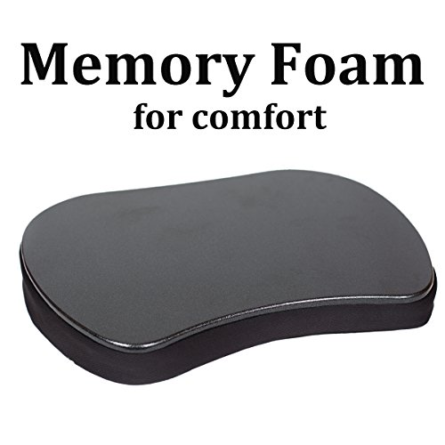 Sofia + Sam Mini Memory Foam Lap Desk Color: Black
