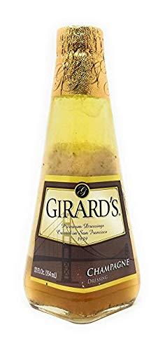 Girard's Light Champagne Dressing 12 Oz (Pack of 3) (Champagne Dressing Salad Light)