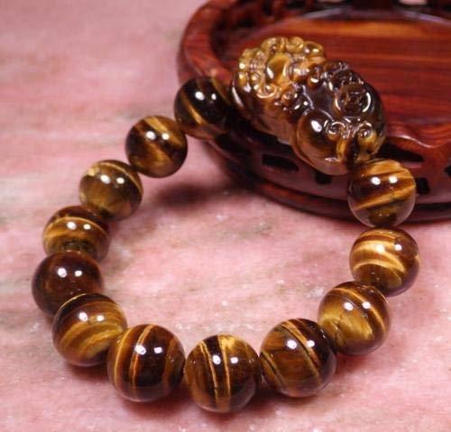 FidgetKute Chinese Cat Tiger Jade Bead Dragon Pi Xiu Coin Bangle Feng Shui Bracelet AAA+
