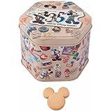 ミッキーマウス 缶入りクッキー お菓子 東京ディズニーリゾート35周年 Happiest Celebration! TDR35th 【東京ディズニーリゾート限定】