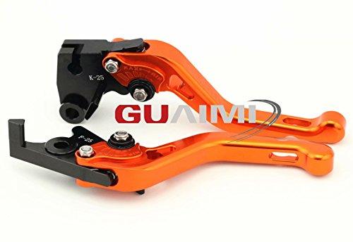 CNC Aluminum corta Juego de palanca de freno y palanca de embrague para KAWASAKI Z750 2003 - 2012: Amazon.es: Coche y moto