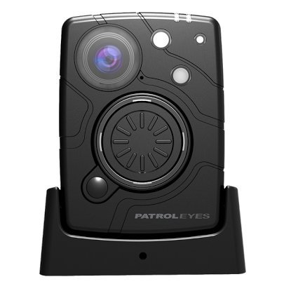 PatrolEyes WiFi HD 1080P 32MP 64GB Wide Angle Night Vision Police Body Camera SC-DV10