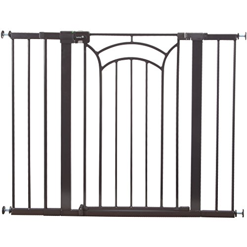 Safety 1st Décor Easy Install Tall & Wide Walk Thru Gate, 36'' High, Fits Spaces between 29'' and 47'' Wide by Safety 1st