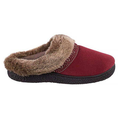 5 Pepper Gel 7 Technology Slippers Womens Chili Smartzone 6 Scuff Isotoner Comfort M B 8OEHBwxEq