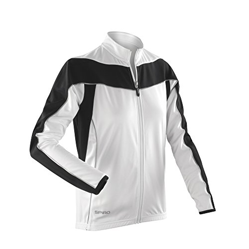 Spiro - Chaqueta modelo Bikewear Performance de manga larga para mujer Fluorescent Orange/Black