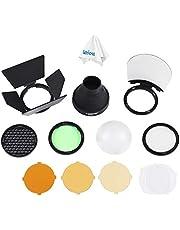 Godox AK-R1 Accessories Kit for Godox H200R, Godox AD200 Accessories, AD200Pro, Godox V1-C, V1-S, V1-N, V1-F, V1-O Round Head Flash