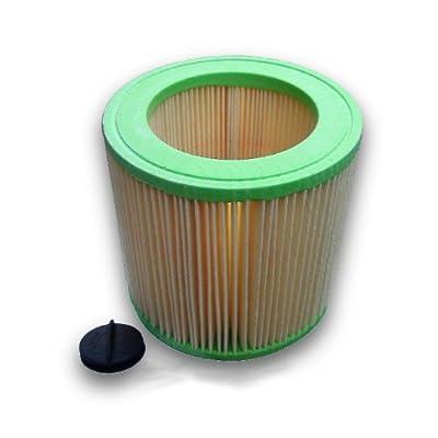 Kallefornia® Filtre Kallefornia K715pour Kärcher WD 3Car rond Cartouche filtre filtre