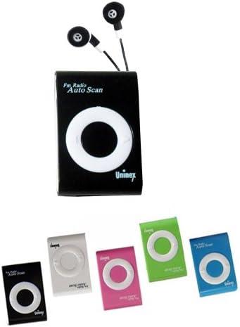 3PC Mini Portable Scan FM Radio Receiver Pocket Tune Music Earphone Jog Run Gift