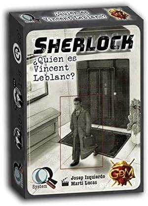 GM Games- Sherlock: ¿Quien es Vincent Leblanc Juego de ...