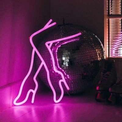 1a0c2ca96a3 High heel Shoes Sexy Lamp Neon Light Sign Wall Neon Light, LED ...