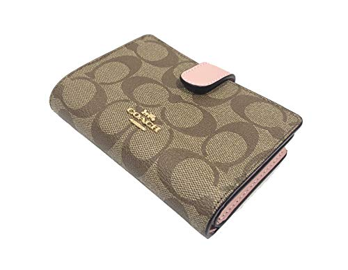 Coach Women's Corner Zip Leather Wallet