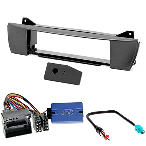 E85 / 2009/ + volante Mando a distancia adaptador de antena 2003/  Carav 11/  / 127/ de LP de 7/ Radio Car DIN EN Dash Instalaci/ón Kit Set for BMW Z4/