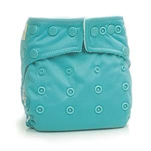 Bumkins Stuff It Cloth Diaper with 2 Minky Inserts, Blue
