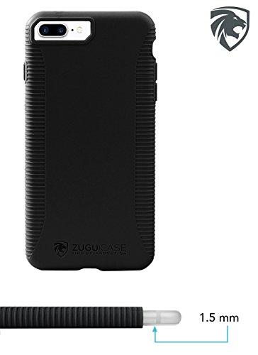 ZUGU CASE iPhone 7/8 Plus Case Social Pro 5.5 inch Display (Formerly ZooGue) (Black) by ZUGU CASE