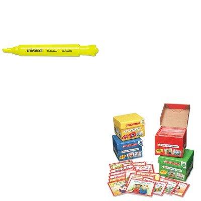 8861 - Value Kit - Scholastic Little Leveled Readers Mini Teaching Guide (SHS0439632390) and Universal Desk Highlighter (UNV08861) ()