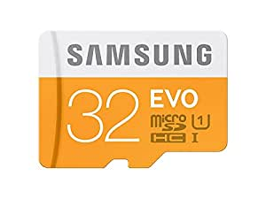 Samsung Evo MB-MP32D/EU - Tarjeta de memoria Micro SDHC de 32 GB (UHS -I Grade 1, Clase 10)