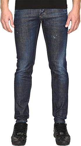 DSQUARED2  Men's Slim Stoner Wash Jeans in Blue Blue 50 (US 34) 40 by DSQUARED2