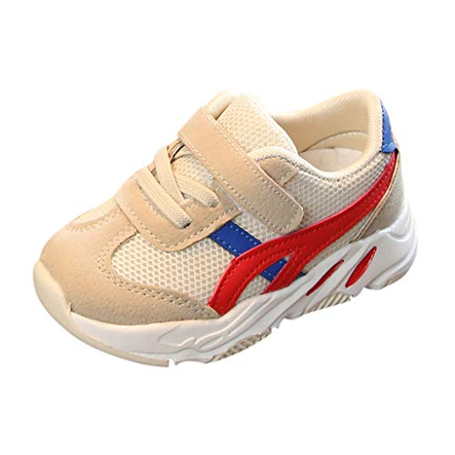 d2f85199bfea Tronet Toddler Infant Kids Baby Boys Girls Mesh Casual Sports Running Shoes  Sneakers Sneakers Beige