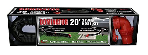 RV Trailer Camper Sanitation The Dominator 20' Extension Hose VALTERRA D04-0275