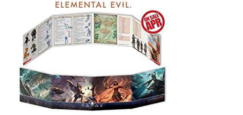 Gale Force 9 D&D Elemental Evil DM Screen Board Games