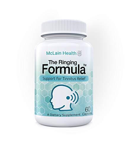 The Ringing Formula - Maximum Strength Tinnitus Relief - Health Supplement Reduces Ear Ringing