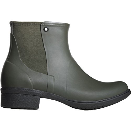 Bogs Womens Auburn Rubber Rain Boot Dark Green Size 6