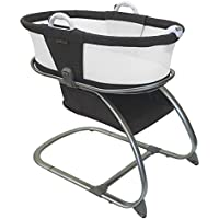 Baby Planet Oasis Breathable Mesh Convertible Bassinet (Graphite)