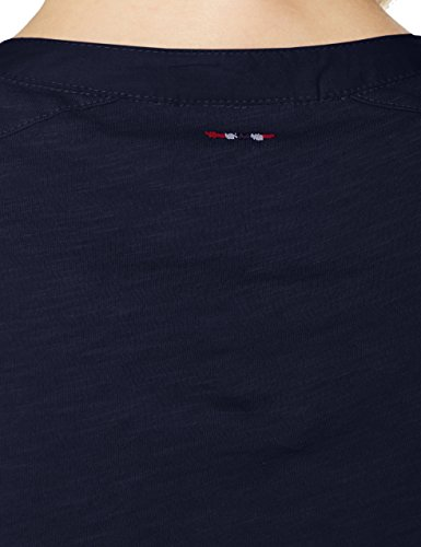 Chemise Napapijri Marine Blu Bleu Femme 176 ZAqAd7w